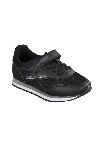 Cool 20-S13 Petrol-Sarı Çocuk Spor Ayakkabı Siyah